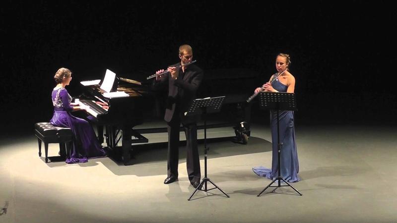 Gary Schocker Three Dances For Two Flutes ~Trio A Piacere ~