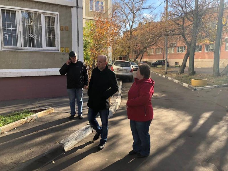Евгений Щербачев совершил обход территории Савеловского