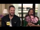 «Мстители: Война Бесконечности»: интервью Зои Салдана и Криса Прэтта для «Entertainment Tonight»