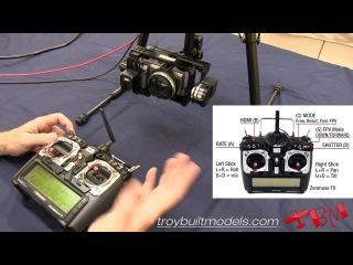 Настройка и функции пульта оператора DJI ZENMUSE Z15 Demonstration