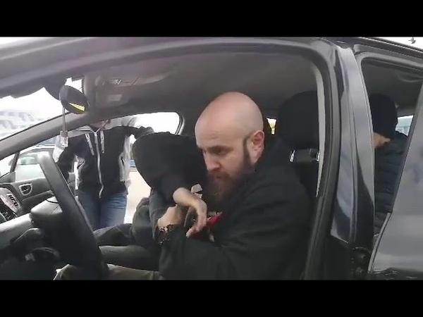 Семинар по крав мага Road Rage защита от угрозы ножом в машине