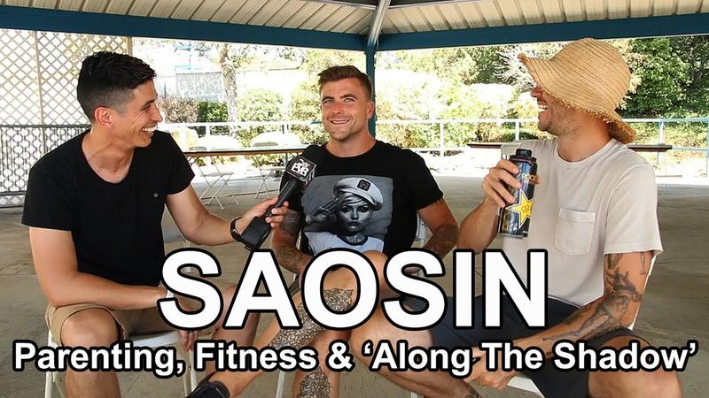 Saosin talk Parenting, Fitness Recording 'Along The Shadow' w/ @RobertHerrera3