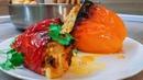 Перец Фаршированный С Мясом И Рисом. Домашний, Пошаговый Рецепт