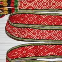 Вышивка славянских поясов
