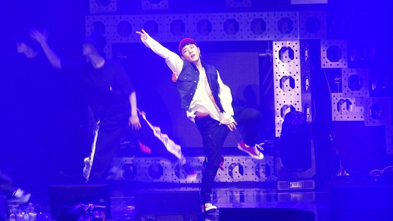 20180609 1PM iKON PRIVATE STAGE KOLORFUL 아이콘 팬미팅 DK SOLO (동혁 솔로 춤 개인무대) - Dance @올림픽공원 올림픽54