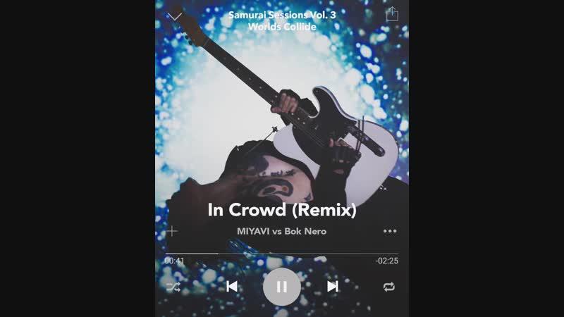 "04. ""In Crowd (Remix)"" vs @boknero SamuraiSessionsVol3 -Worlds Collide- 🌎 2018.12.05 世界激突 🌍 SS3"
