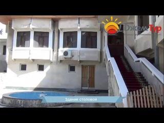 jamtour.org пансионат Эвкалиптовая  роща (Сухум, Абхазия) здание столовой