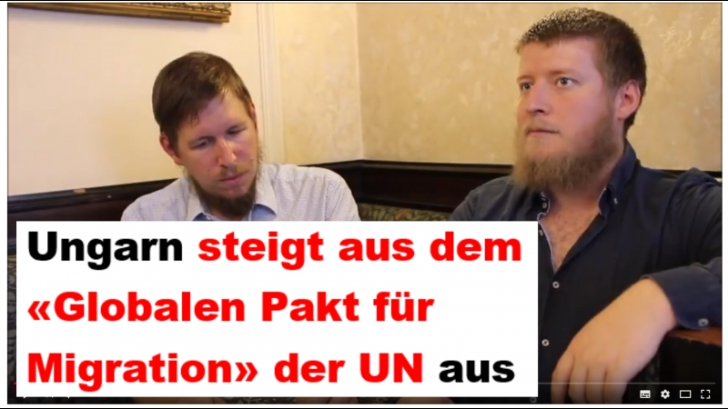 Ungarn steigt aus UN-Migrationspakt aus! www.suworow.at