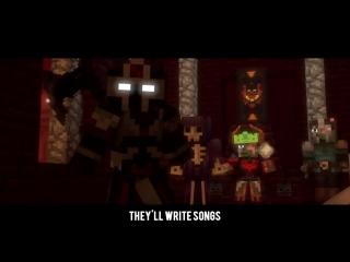 Begin Again - A Minecraft Original Music Video ♪.mp4