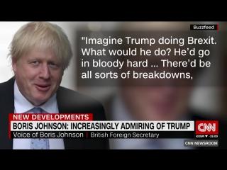 Trump could handle Brexit better than May, Boris hints