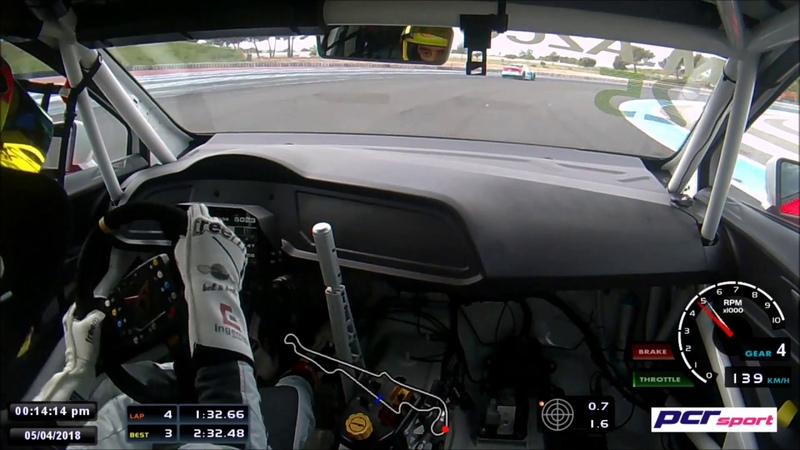 Paul Ricard TCR EUROPE Q2 Mikel Azcona OnBoard