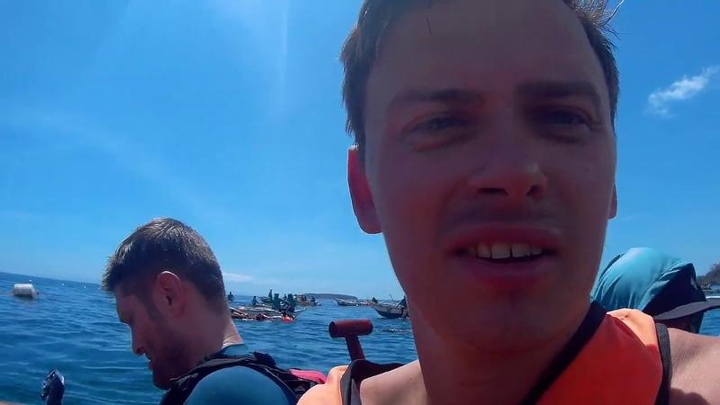 Филиппины. Плывём на о. Себу, в поисках китовых акул! Смотреть всем!)