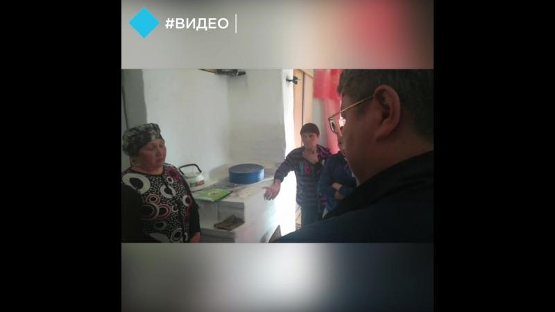 Глава Бурятии приехал к семьям погибших лесников в Курумканском районе
