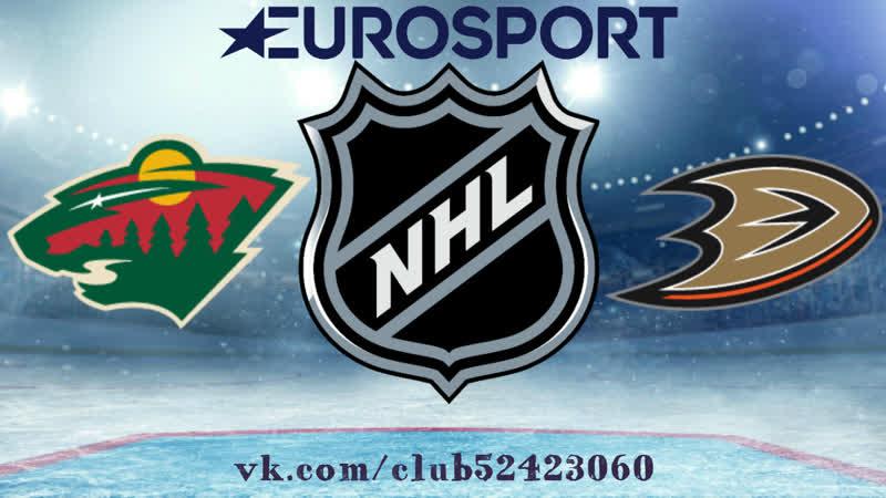 Minnesota Wild vs Anaheim Ducks 09 11 2018 NHL Regular Season 2018 2019