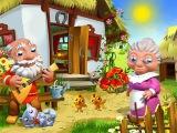 КОЛОБОК -  Живая  Сказка - Мультик для малышей