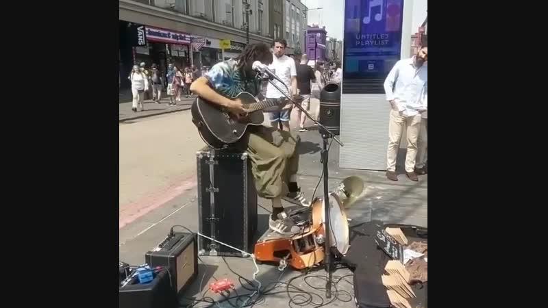 уличный музыкан оркестр