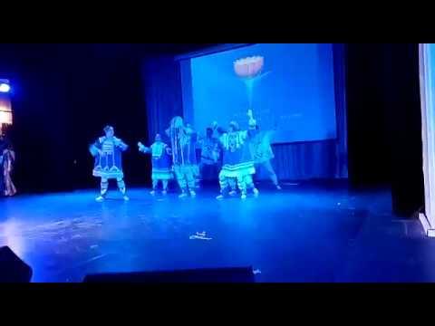 Северный танец Рассвет Земли на концерте Корпорации Развитие и Совершенствование