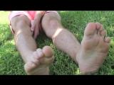 Lucas bare feet