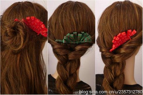 Заколка для волос своими