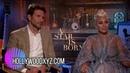 Интервью Леди Гаги и Брэдли Купера для «Hollywood XYZ» (10 сентября)