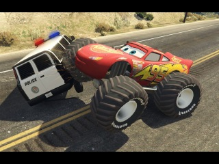 Герои нашего города тачки Маквин Маккуин мод ГТА 5 mcqueen cars McQueen Real City Heroes GTA 5 Mods