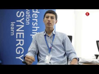 Synergy University Dubai Campus - Abdulaziz Qodirov (student of Synergy)
