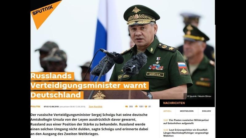 Russlands Verteidigungsminister warnt Deutschland Geschichte wiederholt sich