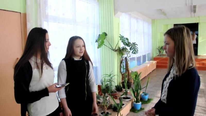 Восемнадцатый выпуск школьного телевидения МБОУ Куровская СОШ №1 Праздник Защитника Отечества