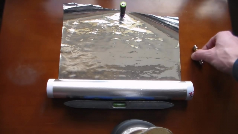 Неодимовые магниты, Батарейка, Алюминиевая фольга = Направленная энергия