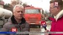 Ремонтные бригады предприятия «Вода Крыма» устраняют последствия аварии в центре Симферополя
