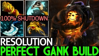 Resolution [Clinkz] Perfect Gank Build 25 Kills | 100% Shutdown 7.19 Dota 2