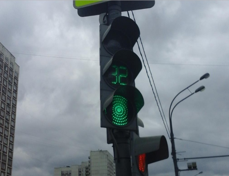 Светофор на Алтушке отремонтировали по просьбе жителя района