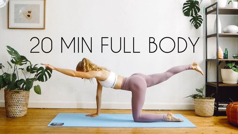 20 MIN FULL BODY WORKOUT | At Home Equipment Free!