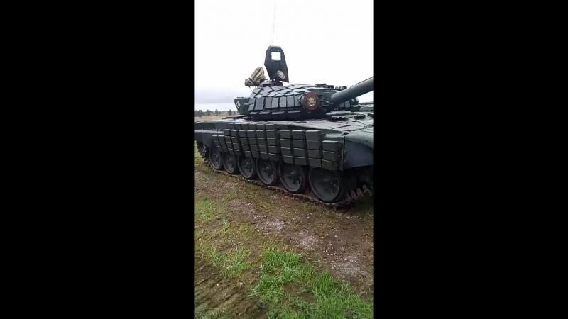На выставке боевой технике Уральский резерв. 25 мая 2018