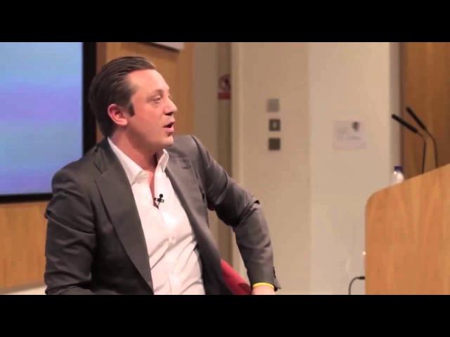 Антон Крейл, бывший сотрудник Goldman Sachs,отвечает на вопросы студентов.Советы част ...