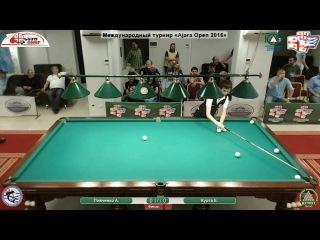Ajara Open 2016 А.Пивченко vs Е.Курта (финал)