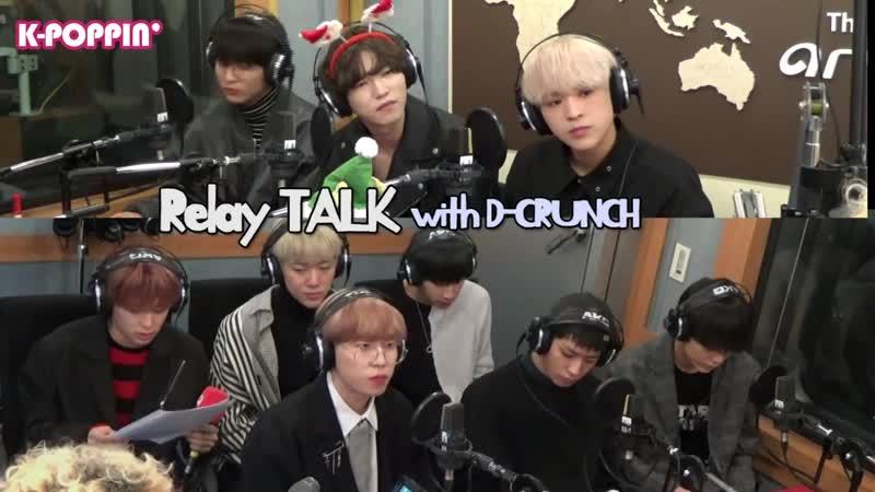 [K-Poppin] D-CRUNCH (디크런치)s Relay Talk on Arirang Radio