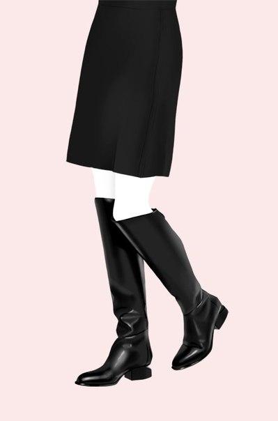 Наверняка у вас есть юбка-мини, юбка-миди, и юбка-макси. А также ботинки, ботильоны, сапоги и даже ботфорты. Что к чему подойдет, а что с чем лучше не носить? Объясняем на словах и картинках.