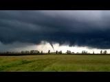 Торнадо! трасса Ленинск - Новосибирск, деревня Журавлево