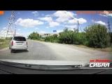 Неадекват за рулём, осторожно