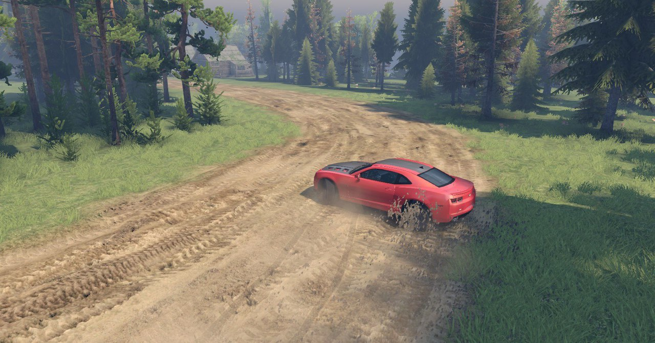 Chevrolet Camaro для Spintires - Скриншот 3