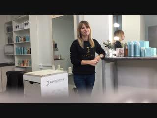 Восстановление осветлённых волос   jean paul myne
