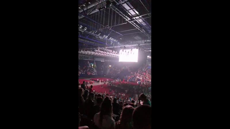 Казань.Татнефть Арена. Около 7000 человек.