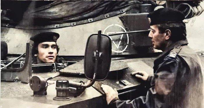 Шварценеггер на службе австрийской aрмии, 1965