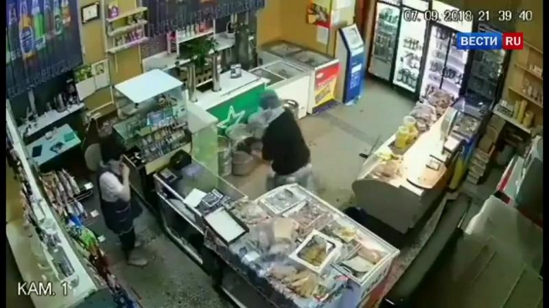 Грабёж магазина (Постановка)