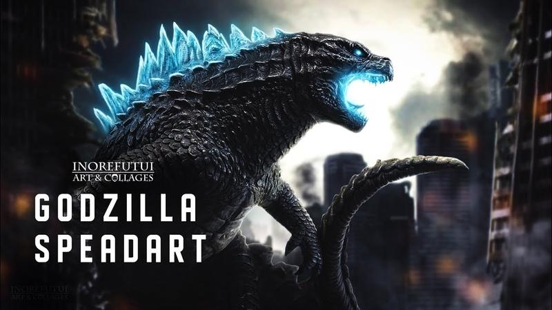 Godzilla - Photoshop SpeedArt