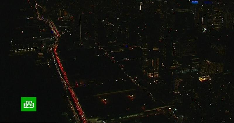 Блэкаут погрузил Манхэттен во тьму на несколько часов