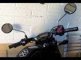 2014 Honda Grom: Mini Clubman Bar Install