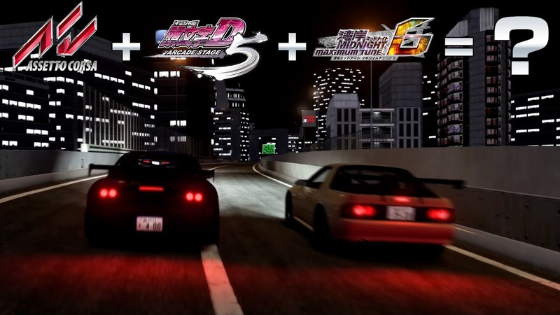Assetto Corsa Initial D5 WMMT6 = ? / C1 Outer Loop Battle / Initial D6 HUD V1.7 Preview