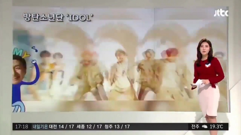 VIDEO BTS was recognized as one of the major promoters of hangul